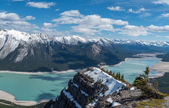 Бесплатные фото Озеро Авраам,Альберта,Канада,горы,природа,пейзаж