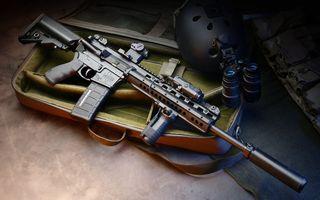 Фото бесплатно штурм, пистолет, машина