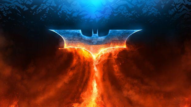 Фото бесплатно Batman, супергерои, логотип