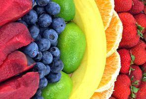 Заставки цвет, фрукты, макро