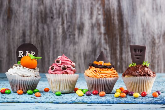 Кексы на Хэллоуин · бесплатное фото