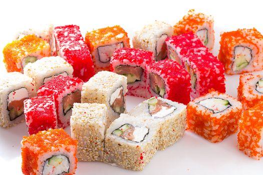 Заставки суши, рис, японская еда