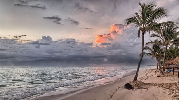 Photo free beach, clouds, island