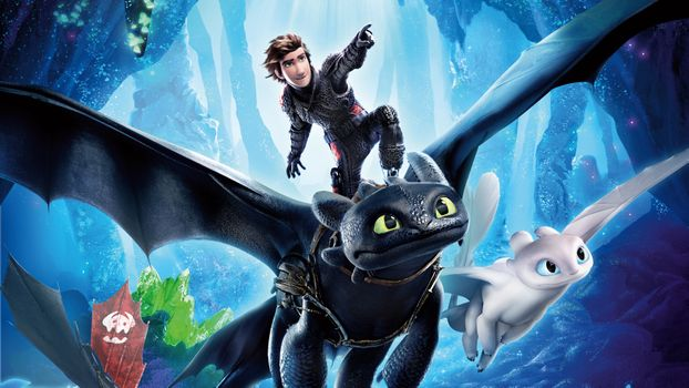 Photo free 2019 Movies, illustrations, How To Train Your Dragon The Hidden World