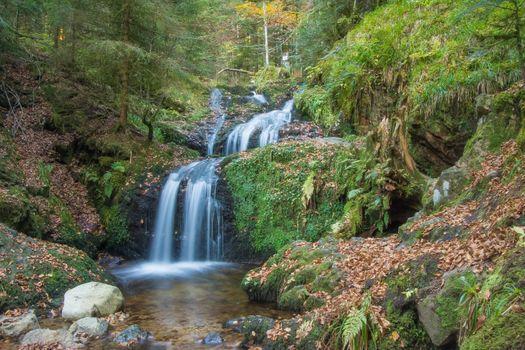 Фото бесплатно водопад, ручей, пейзаж