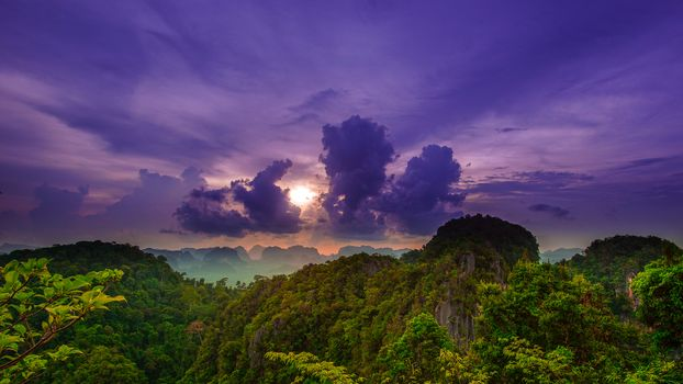 Photo free Krabi District, Thailand, sunset