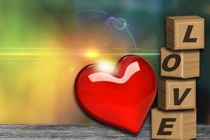 Бесплатные фото любовь,сердце,аннотация,день святого валентина,справочная информация,искусство света,размытие