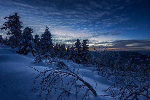 Фото бесплатно Viewpoint, Germany, зима