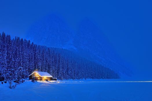 Photo free Lake Louise, Banff National Park, winter