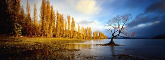 Фото бесплатно озеро, Уанак, пейзаж