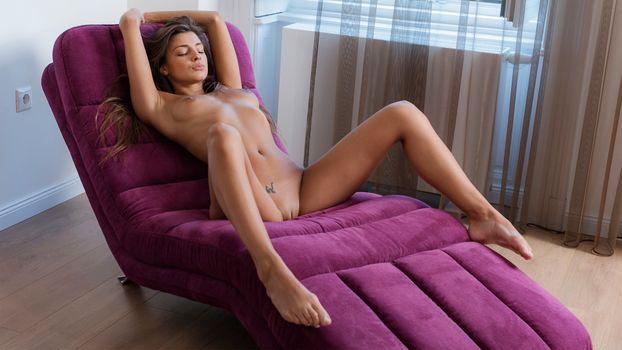 Фото бесплатно Maria Ryabushkina, голышом, худенькая