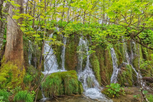 Small waterfalls · free photo