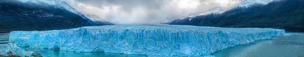 Photo free hills, iceberg, landscapes