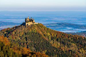 Фото бесплатно Германия, Гогенцоллернов замок, пейзаж