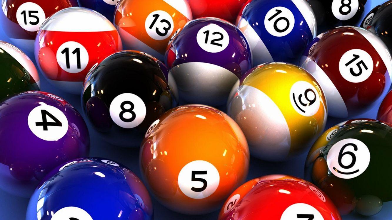 Фото бесплатно бильярд, бассейн, спортивные игры, шары, номера, спорт - скачать на рабочий стол