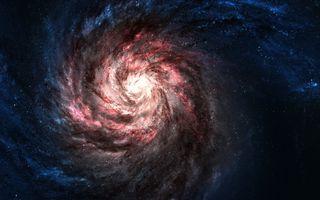 Фото бесплатно туманности, галактики, звезды