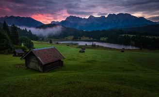 Photo free Bayern, Garmisch, Geroldsee