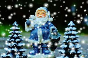 Фото бесплатно Новогодние украшения, новый год, фон