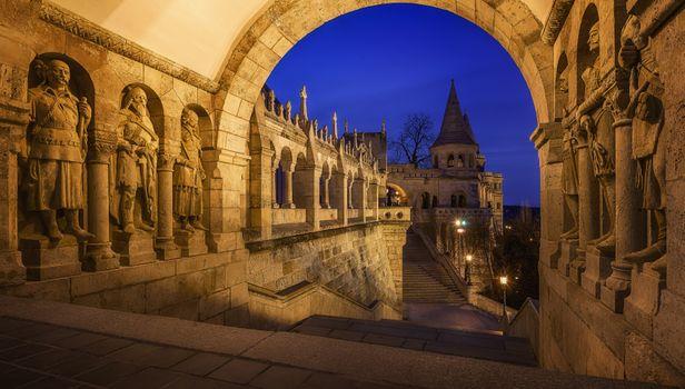 Photo free Fishermans Bastion, Budapest, Hungary