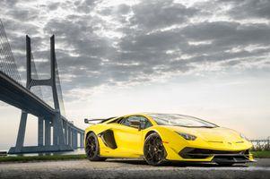Фото бесплатно Lamborghini Aventador SVJ, Ламборгини Авентадор, Ламборгини