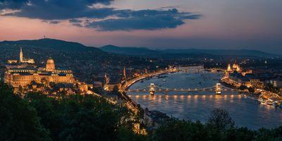 Фото бесплатно Парламент, Будапешт, панорама