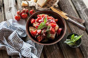 Бесплатные фото еда,салат,овощи,помидоры