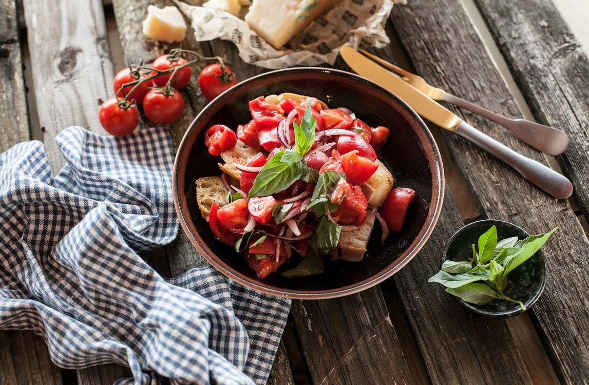 Фото бесплатно еда, салат, овощи, помидоры, еда - скачать на рабочий стол