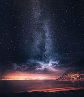 Заставки milkywaypics, пляж, астрономический
