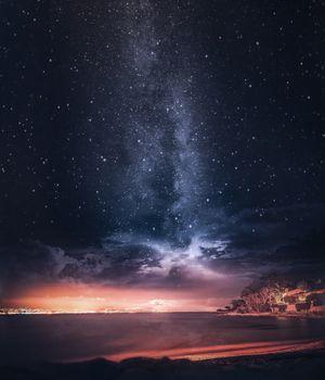 Бесплатные фото milkywaypics,пляж,астрономический,франция,небо,природа,атмосфера,атмосфера земли,астрономический объект,геологическое явление,ночь,космическое пространство