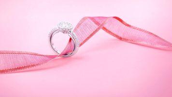 Бесплатные фото праздник,кольцо,лента,украшение,свадьба,драгоценность,обручальное