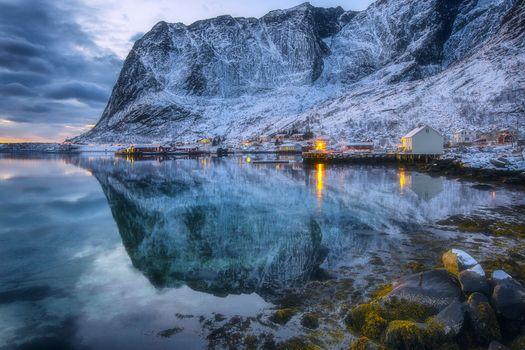 Saver lofoten islands, reine, reine free download