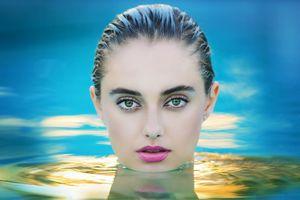 голова над водой · бесплатное фото