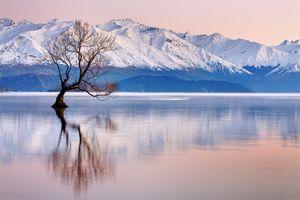 Фото бесплатно Уанака, Новая Зеландия, Восход
