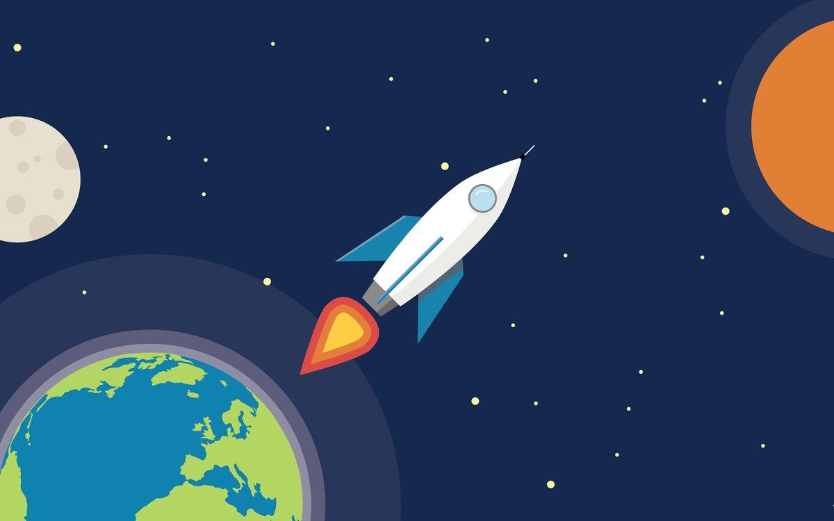 Фото бесплатно искусство, произведения искусства, футуристическая, корабль, космос, космический корабль, минимализм - скачать на рабочий стол