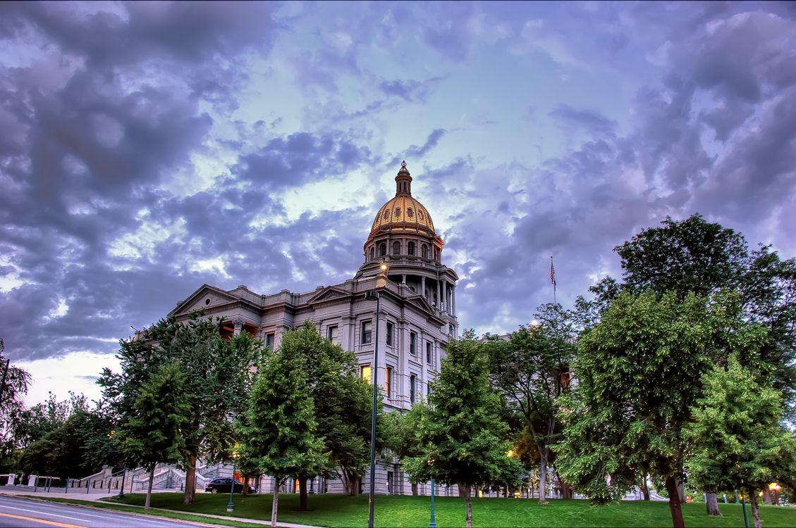 Обои Капитолий, Колорадо, Денвер на телефон | картинки город