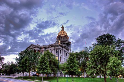 Фото бесплатно Капитолий, Колорадо, Денвер