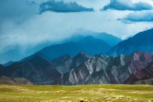 Вид с Памирского тракта · бесплатное фото