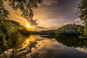 Фото бесплатно озеро, Саман, пейзаж