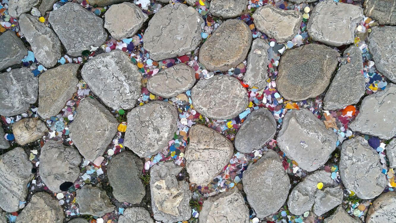 Фото бесплатно камни, разноцветные, берег - на рабочий стол
