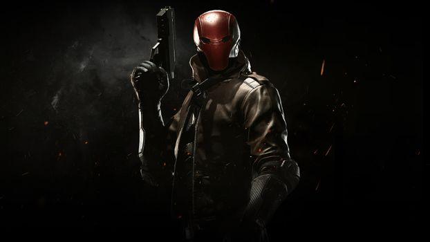 Фото бесплатно Несправедливость 2, герой, маска
