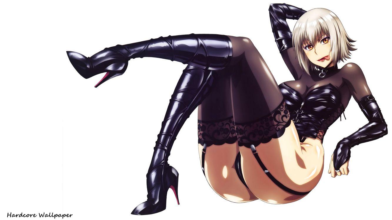 Фото бесплатно uzaki Хитоми, платиновая блондинка, аниме, детка, сексуально одеты, блестящая одежда, чулки, ножки, высокие каблуки, собственный вырезать, аниме