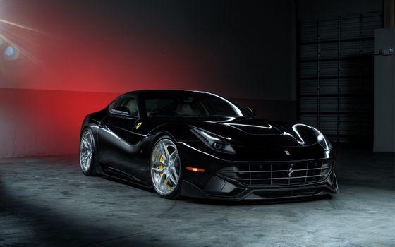Photo free Ferrari, cars, black car
