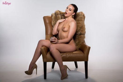 Photo free whitney wright, nude, chair