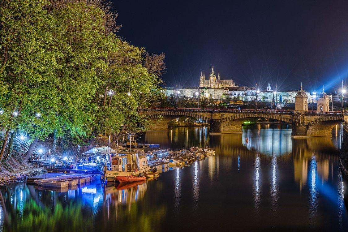 Фото бесплатно Славянский остров, Прага, Чехия - на рабочий стол