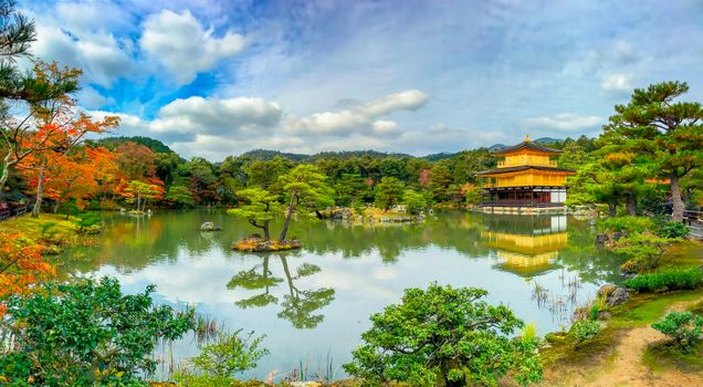 Photo free Kinkakuji Golden Pavilion, Kinkakuji Temple, Kyoto