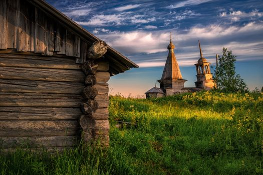 Фото бесплатно пейзаж, Россия, деревня