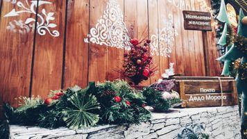 Бесплатные фото новый год,рождественская елка,праздник,зима,рождество,рождественские украшения,цветок