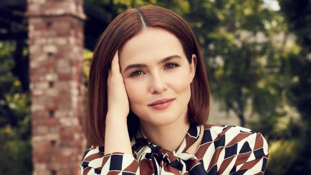 Фото бесплатно Zoey Deutch, шатенка, актриса
