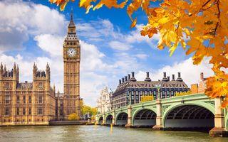 Фото бесплатно осень, Великобритания, Англия