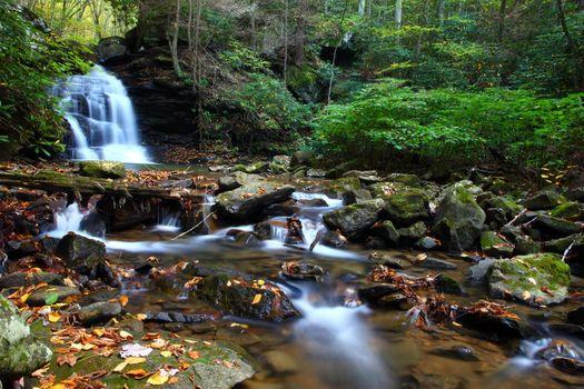 Заставки Леса, Водопады, Камни